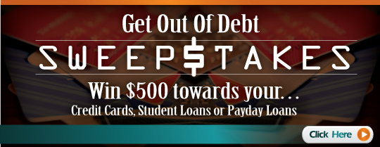 Win $500 towards credit card bills.